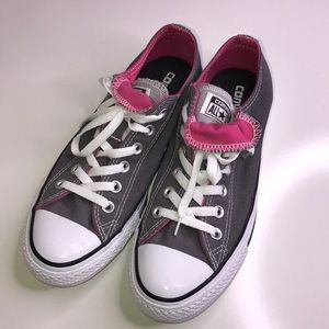 CONVERSE Hot Pink ALL STARS Ladies Size 9